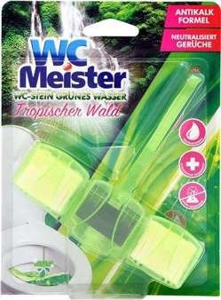 Wc Meister 45g tualetes poda bloks ar tropu smaržu