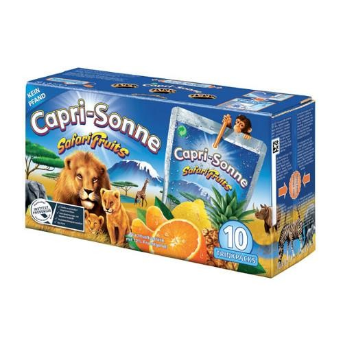 Capri Sun Safari Fruits suliņas (200mlx10) | Multum.lv
