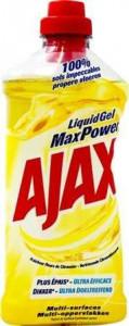 Ajax 750ml Max Power gel Universal Citron