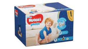 Huggies Pants Boy 4 (9-14kg) 72gb.