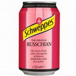 Schweppes Russchian gāzēts dzēriens 0.33l