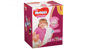 Huggies Pants Girl 6 (15-25kg) 60gb.