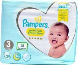 Pampers Premium Protection #3  (6-10kg) x29