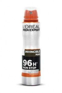 L'Oreal 150ml deo men Invincible Man 96H