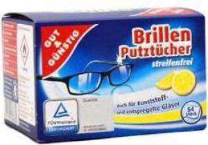 Gut&Gunstig salvetes brillēm x54