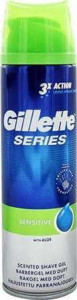 Gillette Series 200ml Sensitive skūšanās želeja