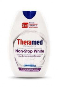 Theramed 75ml 2in1 Non-Stop White