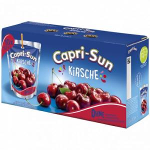 Capri-Sun Cherry ķiršu sula (200mlx10 iepakojumi)