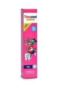 Theramed 75ml zobu pasta ar zemenēm (no 6 gadiem)