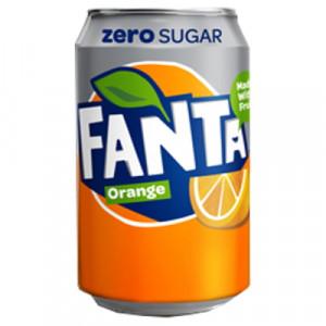 Fanta Zero sugar 0.33 l