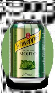 Schweppes Mojito bundžā 0.33l