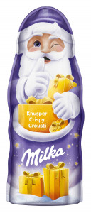 Milka Knusper Santa 95g