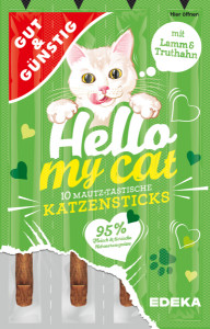 G&G Hello My Cat Katzensticks Lamm x10 50g