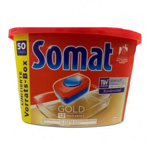Somat Gold x50 tabletes trauku mazgājamām mašīnām