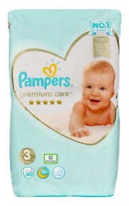 Pampers Premium Care #3 (6-10kg) x60