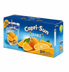 Capri-Sun Orange apelsīnu sula (200mlx10 iepakojumi)