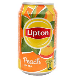 Lipton ledus tēja Peach 330ml
