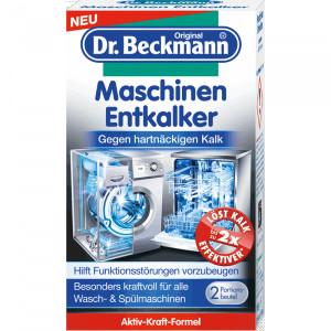 Dr.Beckmann atkaļķošanas līdzeklis veļas mašīnām un trauku mazgājamām mašīnām 100g
