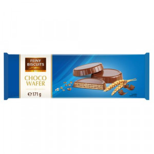 Feiny biscuits šokolādes vafeles 171g