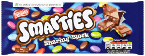 Smarties Sharing Block 100g