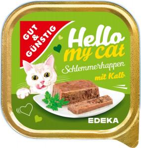 G&G Hello My Cat Schlemmerhappen Kalb pastēte kaķiem ar teļa gaļu 100g