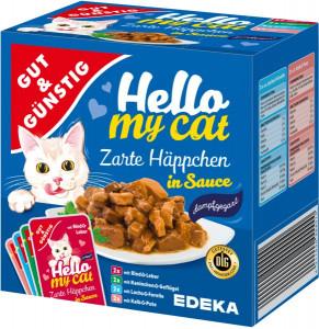 G&G Hello My Cat gaļas gabaliņi mērcē 8 gab. 800g