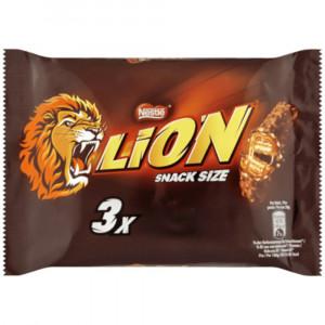 Lion Choco Snack šokolādes batoniņš 3x30g