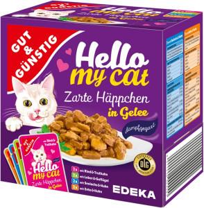 G&G Hello My Cat slapjā barība 8gab. 800g