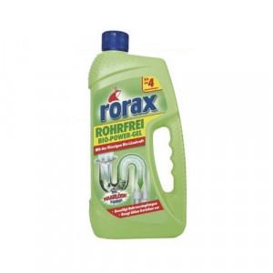 Rorax Bio Power Gel cauruļu tīr.līdz. 1L