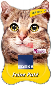 Edeka Feine Pate mit Pute for the Cat 85g