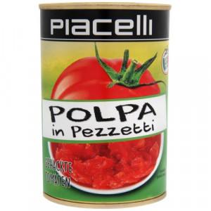 Piacelli Polpa Pezzetti sasmalcināti tomāti 400g