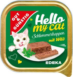 G&G Hello My Cat Schlemmerhappen Wild pastēte kaķiem 100g