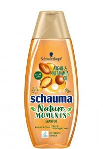 Schauma Nature Moments Argan Macadamia šampūns 350ml