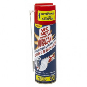WC Net Ouragan Odours Mousse do Rur 300ml