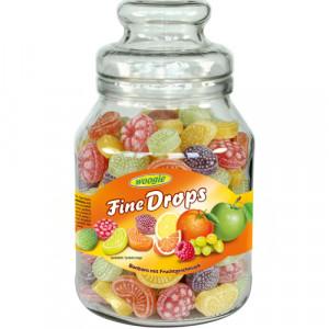 Woogie Fine Drops augļu mix - ledenes 966g