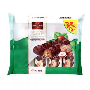 Feiny Biscuits Crunchy Wafer Hazelnut 4x23g