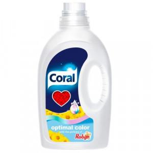 Coral Optimal Color x26 mazgāšanas želeja krāsainai veļai 1.25L