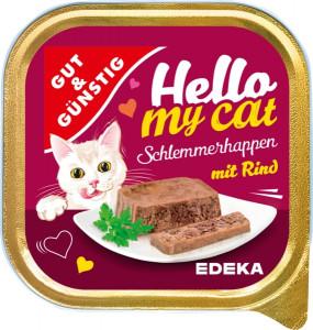 G&G Hello My Cat pastēte kaķiem ar liellopa gaļu 100g