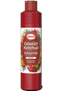 Hela Schaschlik Gewurz Pikant Ketchup 800ml