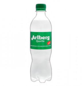 Arlberg quelle kalnu avotu ūdens, viegli gāzēts 0,5l