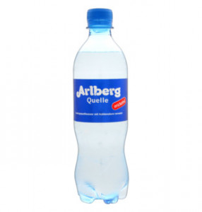 Arlberg quelle kalnu avotu ūdens, negāzēts 0,5l