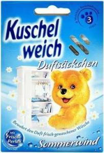 Kuschelweich Sommerwind aromātiskie masiņi drēbēm x3