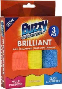 Buzzy Microfibra x3