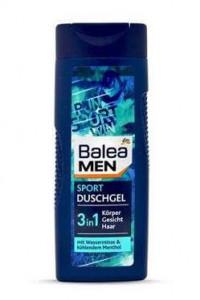 Balea Sport 3in1 dušas želeja vīriešiem 300ml