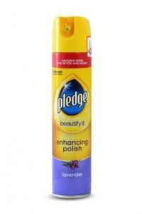 Pledge aerosols koka virsmu kopšanai ar lavandas smaržu 250ml