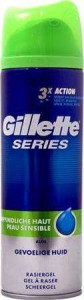 Gillette Series Sensitive Skūšanās želeja 200ml