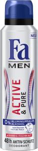 Fa Men Active Pure Deo 150ml