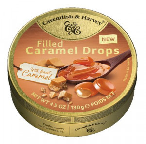 C&H Filled Caramel Drops with Caramel 130g