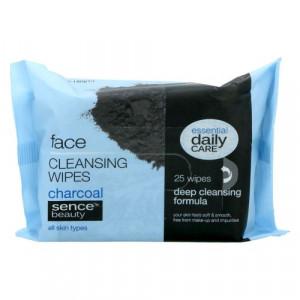 Sence™ beauty sejas tīrīšanas salvetes ar kokogli. x25