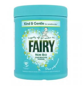 Fairy Non Bio traipu tīrīšanas pulveris 500g